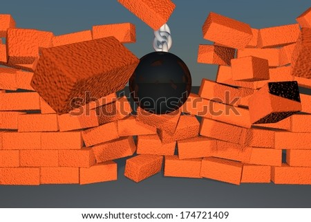 stock-photo-wrecking-ball-braking-down-a-brick-wall-d-render-174721409.jpg