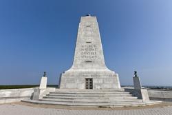 Wright Brothers Monument 60 Foot Granite Monument on top of Big Kill Devil Hill Kitty Hawk, North Carolina