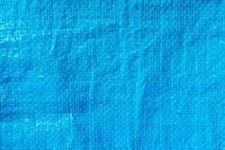 wrinkle blue plastic textile