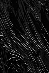 Wrinkled Black Plastic Wrap surface texture