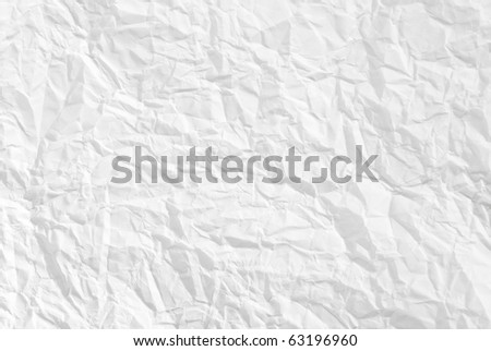 wrinkled paper white background texture