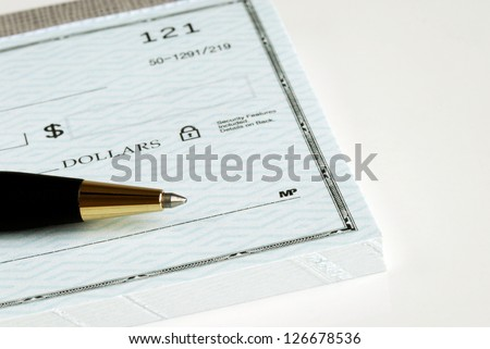Write the dollar amount on the check