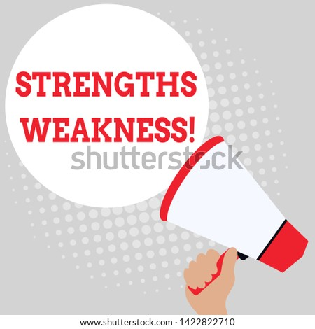 Writing note showing Strengths Weakness. Business photo showcasing Opportunity and Threat Analysis Positive and Negative Office Worker Sunglass Blank Whiteboard Meeting Presentation.