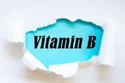 Writing note showing Vitamin B. Business photo showcasing Highly important sources and benefits of nutriments folate