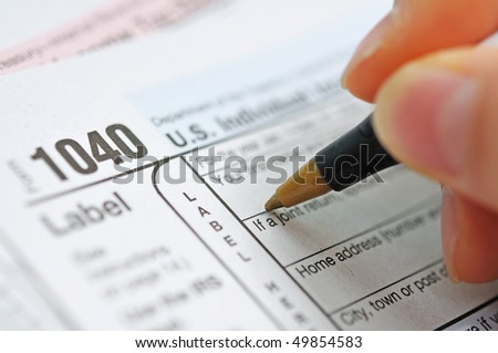 writing tax return