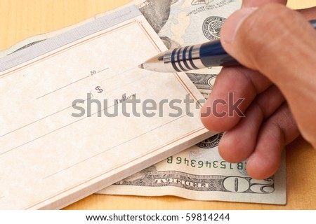 Writing The Check Amount