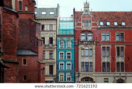 Wroclaw - an amazing city in Poland #721621192