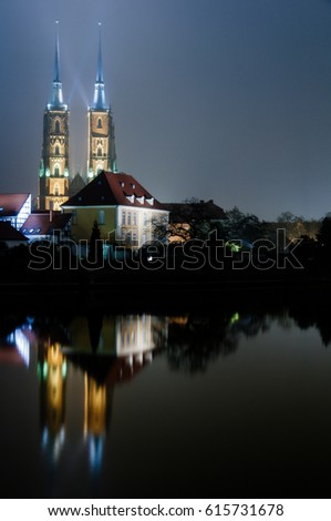 Wroclaw Cathedral, Wroclaw's Saint Johns the Baptist Cathedral, Wroclaw, Poland #615731678