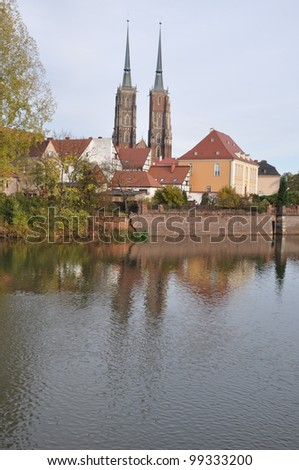 Wroclaw, Wroclaw, Ostrow Tumski