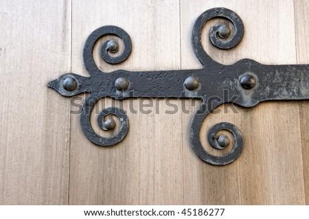 2 Pair Brass Hinges Hinge Old Ice Box Door Pattern | eBay