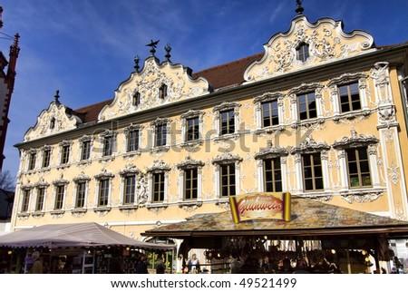 Wuerzburg (Bavaria), Historic house 'Haus zum Falken'