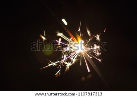 Wunderkerze Silvester Sparker Fireworks