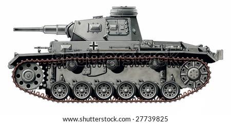 ww2 german panzer lll G