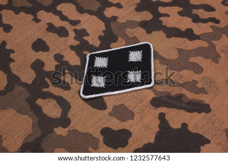 WW2 German Waffen-SS military insignia Images and Stock