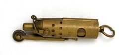 WW1 Trench Lighter. These were a popular item of personal kit carried by soldiers during the Great War. Vintage lighter from World War 1