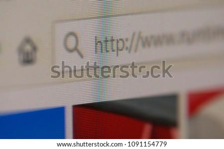 www website closeup #1091154779