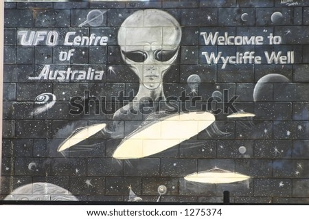 wycliff well UFO centre