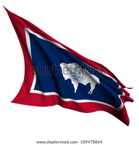 Wyoming flag - USA state flags collection no_2