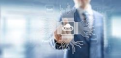 XaaS PaaS SaaS IaaS DBaaS Infrasstructure Service Data Base Platform development solution for business.