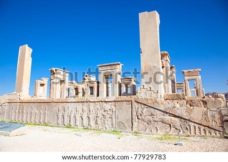 Xerxes palace in Persepolis, Iran