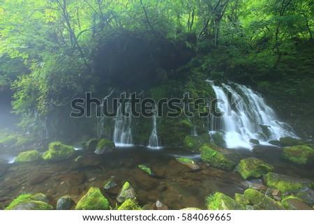 Xia Yuan falls subsoil water #584069665