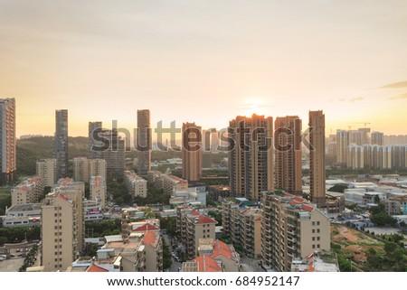 Xiamen City - Jul 11,2015:Xiamen Hecuo Xiabao Community In Xiamen City,Fujian,China