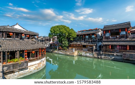Xitang ancient town ancient residential River