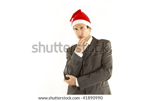 xmas businessman