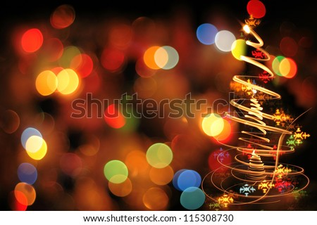 Stock Photo xmas texture as very nice christmas background from color lights