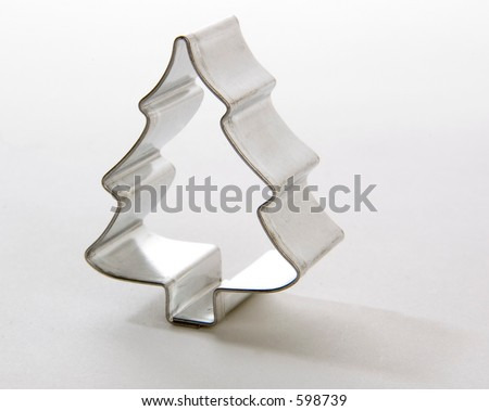 xmas tree cookie cutter