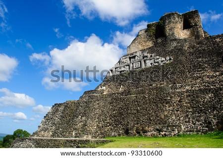 Xunantunich Belize Mayan Temple