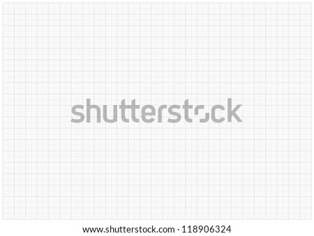 XXL millimeter paper, graph paper, plotting paper.