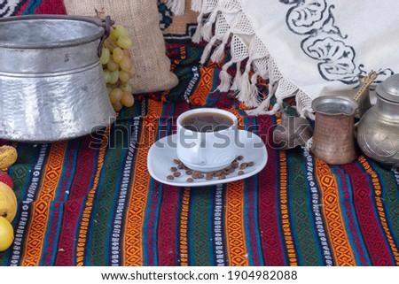 yöresel bitkilerden demlenmiş lezzetli çay Stok fotoğraf ©