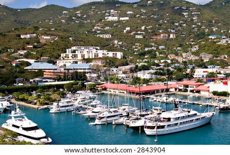 Sapphire Marina Slips for Rent in St