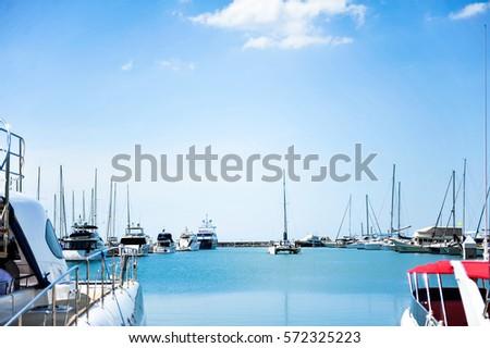 Yacht marina. #572325223