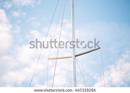 Yacht mast