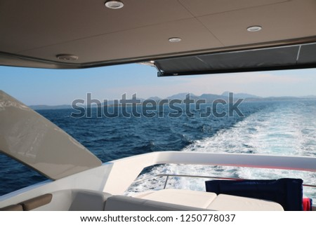 Yachting luxury and lifestyle  #1250778037