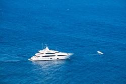 Yachting on the Mediteranean Sea near Monaco
