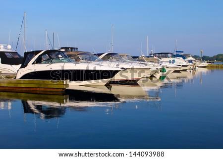 Yachts anchored at marina #144093988