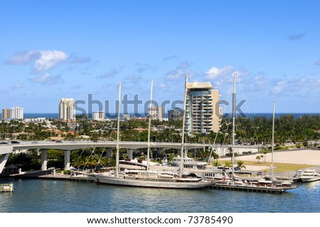 Yachts and boats in Fort Lauderdale