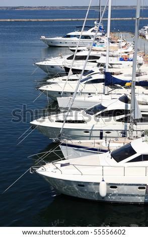 yachts at berth #55556602