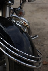Yamaha Stratoliner Black Motorcycle Parts