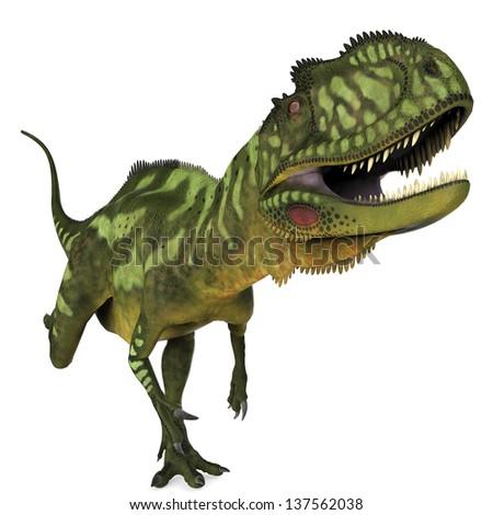 Yangchuanosaurus running