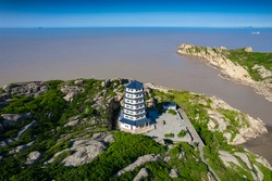 Yangshan Shilong scenic spot, Zhoushan City, Zhejiang Province, China