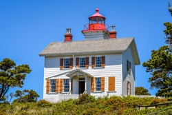 Yaquina Bay Lighthouse, Oregon-USA