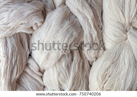 Yarn, raw materials for cotton #750740206