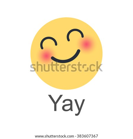 YAY. New like button. Empathetic Emoji. It is a well-known social networking service.