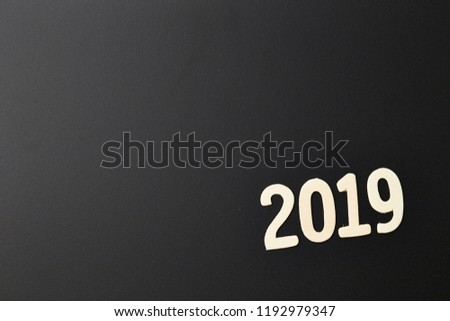 Year 2019 background  #1192979347
