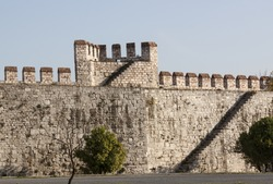 Yedikule Fortress is a section Walls of Constantinople.