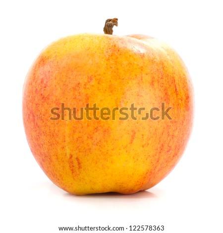 Yello Apple Isolated on White